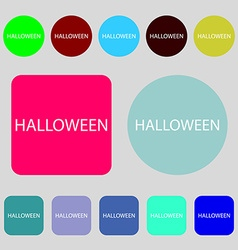 Halloween sign icon halloween-party symbol 12 vector