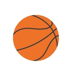 Ball basketball sport classic play vector