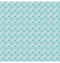 Retro pattern with lines and circles vector