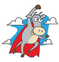 Super cow vector