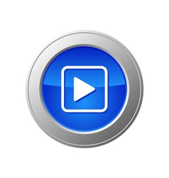 video button vector image vector image