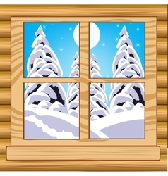 View from window vector