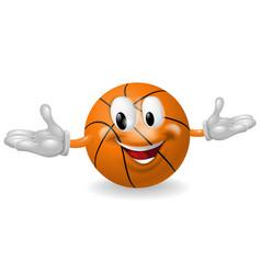 basket ball man vector image