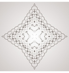 Circular pattern in the form of intricate vector