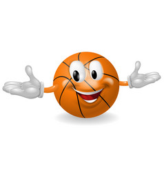 basket ball man vector image