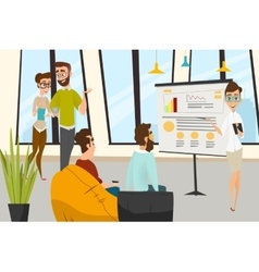 Business characters set vector image