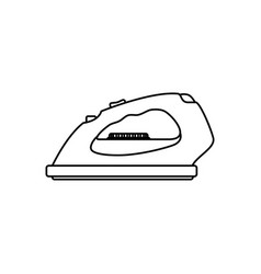 clothes iron electric household appliances vector image vector image