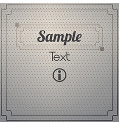 Dot texture vector image vector image