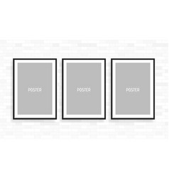 empty white a4 sized paper frame mockup show your vector image