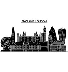 England london architecture city skyline vector