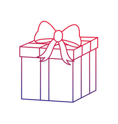 Isolated gift design vector