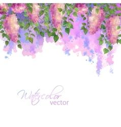 Watercolor Spring vector image vector image