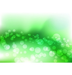 Green water liquid vector