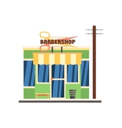 Barbershop Front vector image vector image