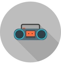Casette player vector