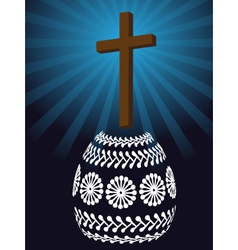 Christian easter vector