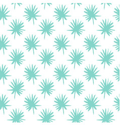 Palm leaf brush seamless pattern vector