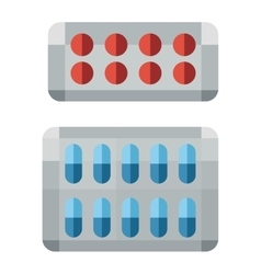 Tablet pills vector
