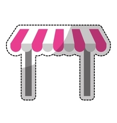 Store shade icon image vector