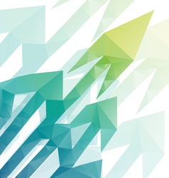 Arrows abstract background vector image