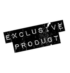 Exclusive product rubber stamp vector