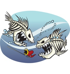 Skelefish vector