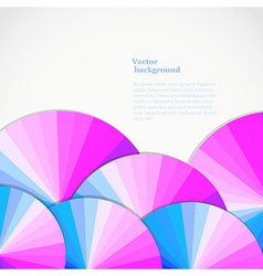 Abstract background with spectrum wheels bright vector