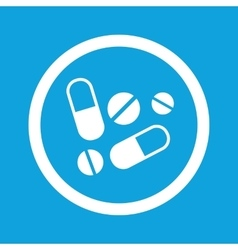 Medicine sign icon vector