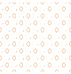 Oval drops tender seamless pattern vector