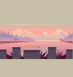background for games mobile applications and vector image vector image