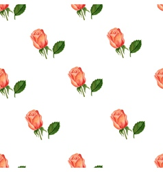 Colorful Watercolor Floral Background vector image vector image
