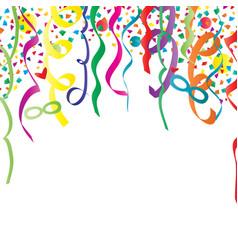 Festive carnival background vector