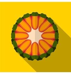 Guava flat icon vector