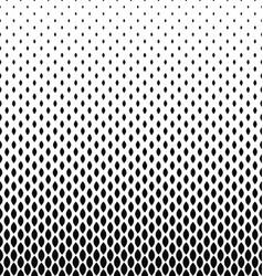Monochrome curved shape pattern design background vector
