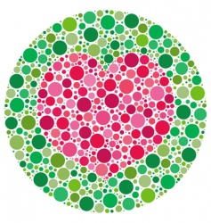my love is color blind vector image vector image