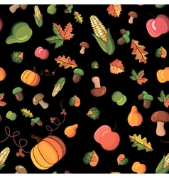 pattern harvest vector image