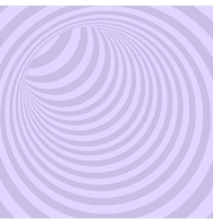 Violet circle striped abstract tunnel vector