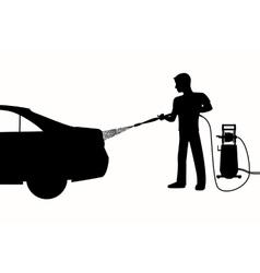 Wan car wash vector