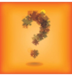 Question marks vector