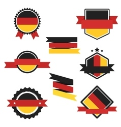 World flags series flag of germany vector