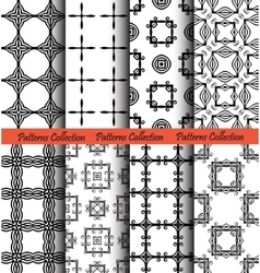 Backgrounds square forged hand drawn vector