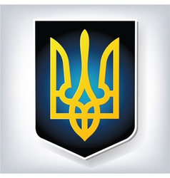 Ukraine coat of arms vector