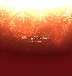 Shiny merry christmas background vector
