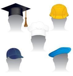 various headdress vector image
