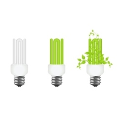 power saving isolated vector image