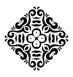 Abstract mehndi tattoo ornament vector