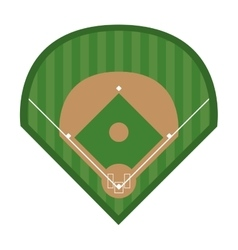 League of baseball sport design vector