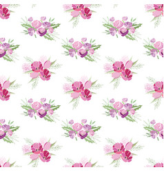 summer flower composition vector image vector image