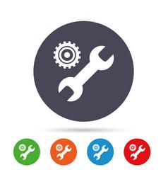 repair tool sign icon service symbol vector image