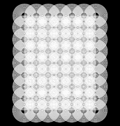 Circular optical wallpaper vector image vector image